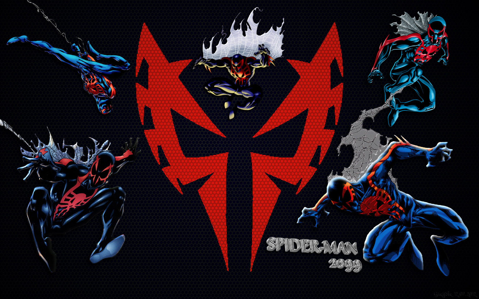 Spider Man 2099 Wallpaper On Wallpaperget Com: Spider Man 2099 Wallpaper