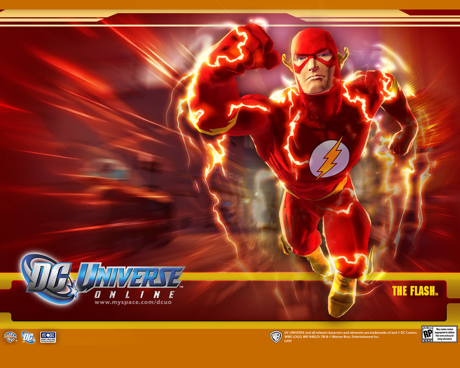 The Flash   DC Universe Online 1600x1280
