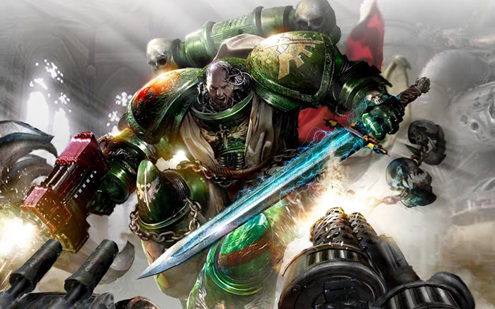 Warhammer 40k death company wallpaper - Warhammer 40k Wallpaper 1680x1050 Warhammer 40k Dark Angels