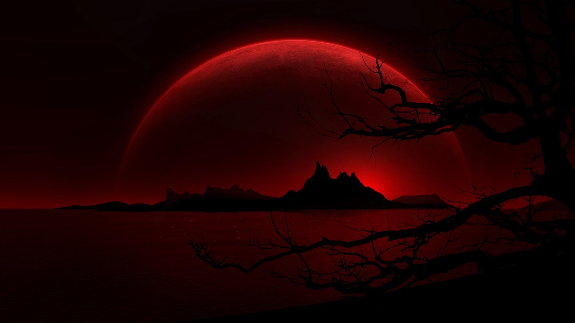 Dark Red Night   1920x1080   234189 1920x1080