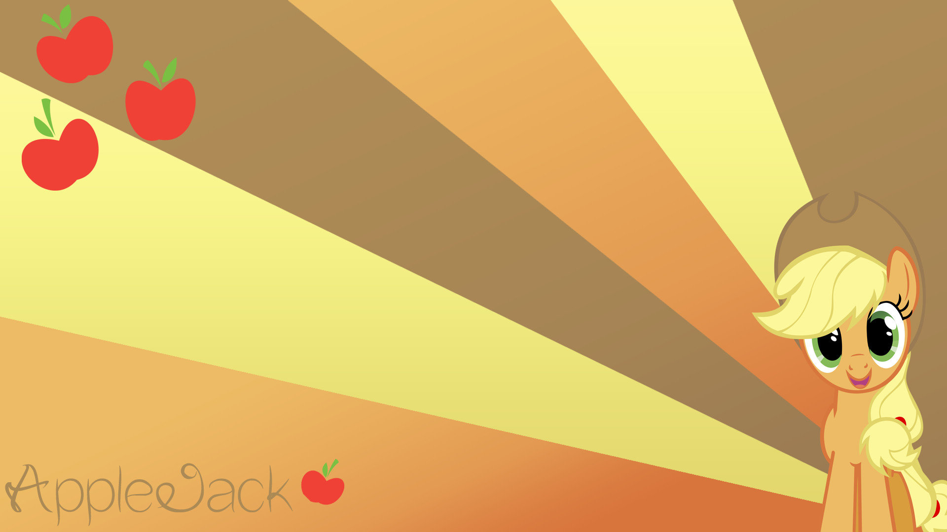 Awesome Applejack My Little Pony background ID154612 for 1920x1080