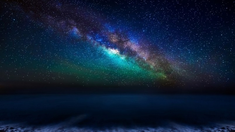 Free Download Milky Way Galaxy From The Canary Islands Hd