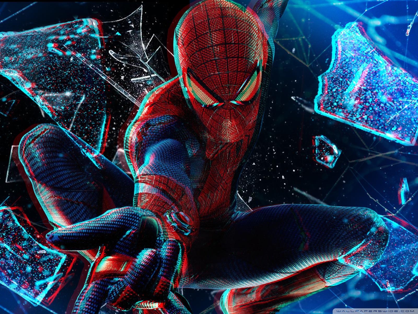 Free The Amazing Spider Man 3D 4K HD Desktop