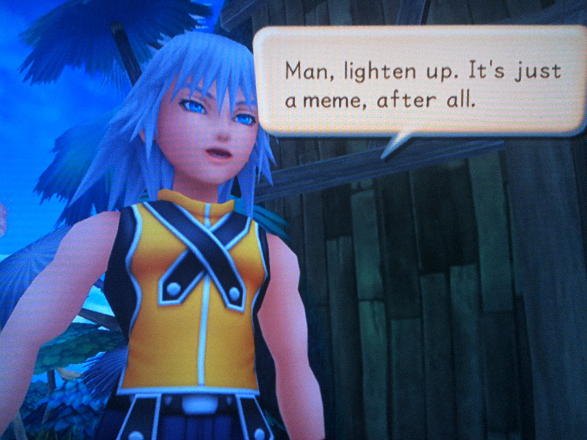Friendly Advice From Riku Reaction Images Know Your Meme 2048x1536