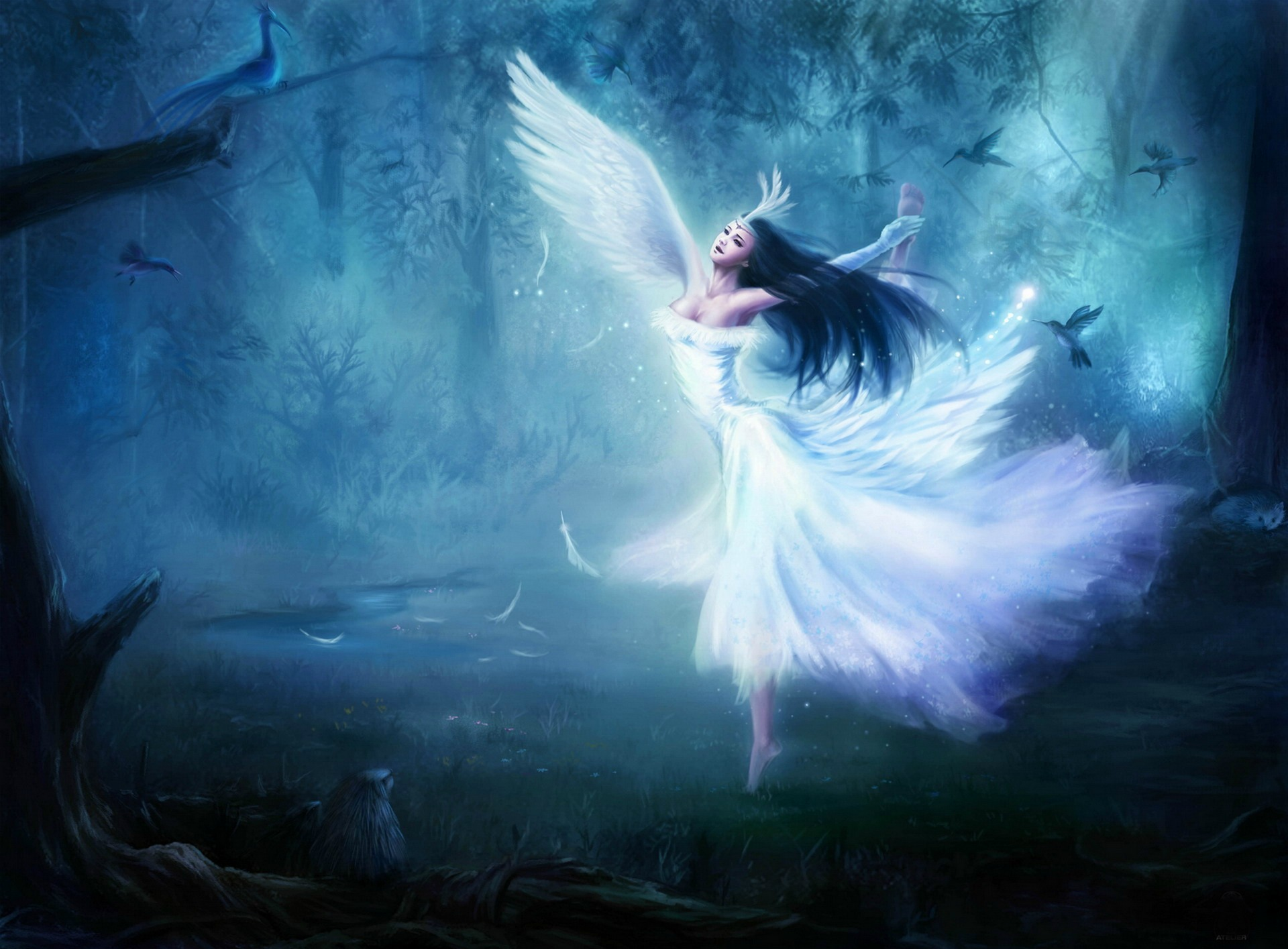 Fantasy   Fairy Wallpaper 1920x1415