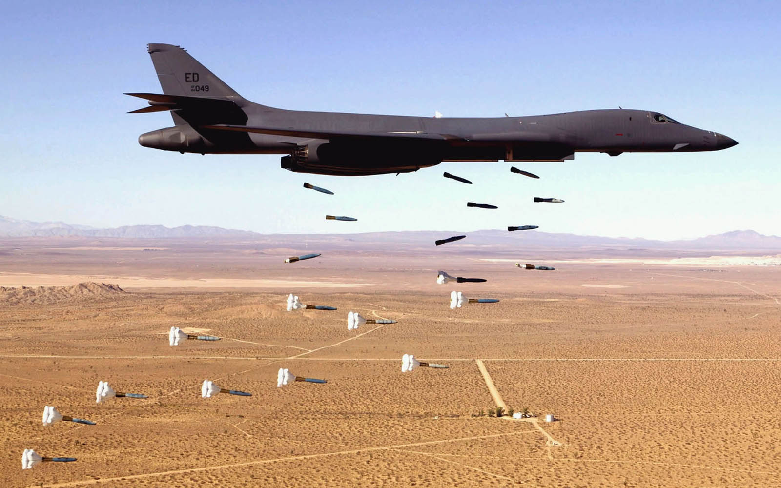 Rockwell B 1 Lancer Aircraft Wallpapers Backgrounds Photos Pictures 1600x1000