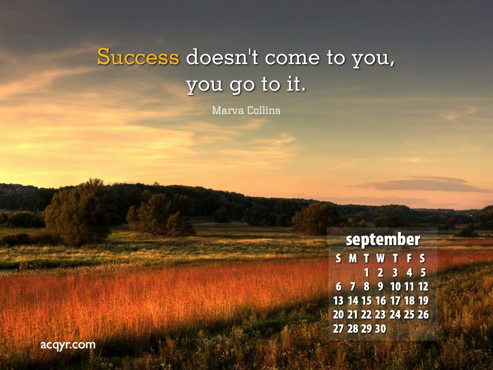 September 2009 Calendar Desktop Wallpaper 1 1600x1200