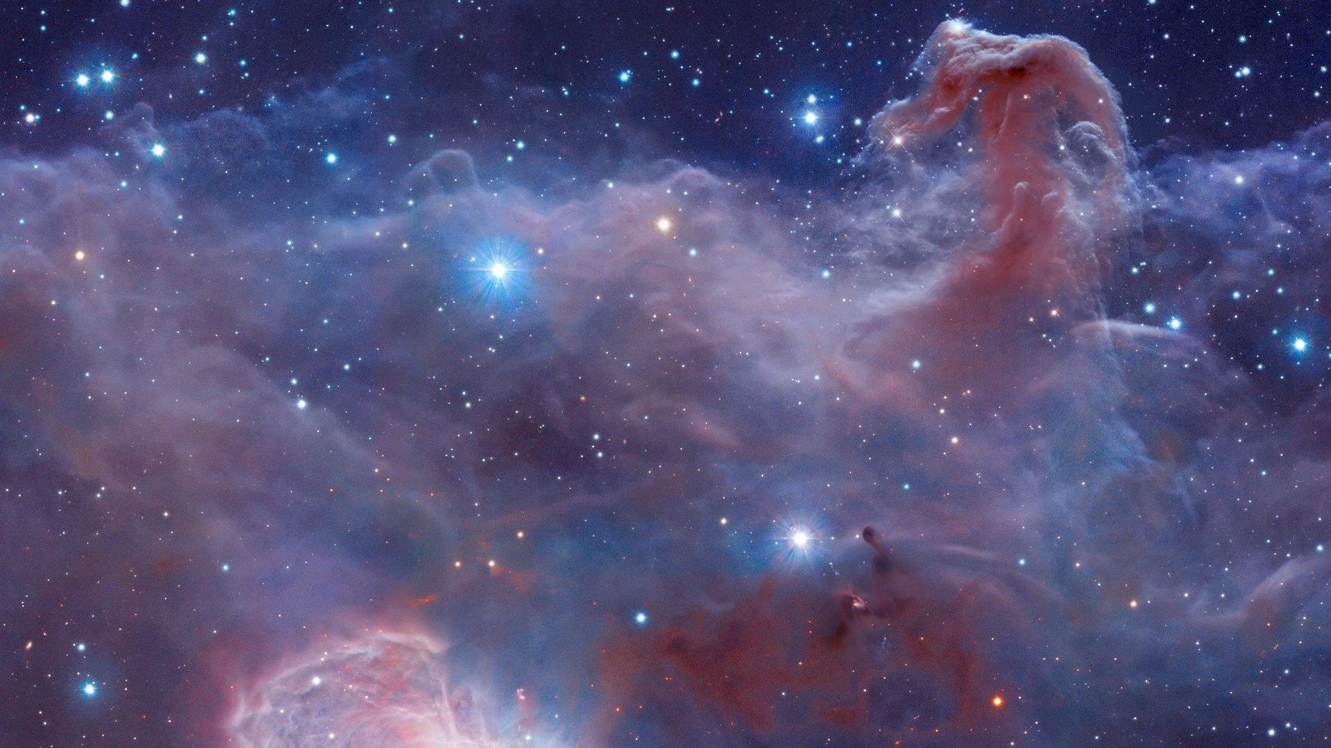 nebula 4k space desktop orion horsehead barnard wallpapersafari code
