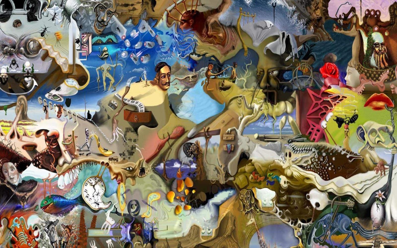 [45+] Salvador Dali Wallpapers Free on WallpaperSafari
