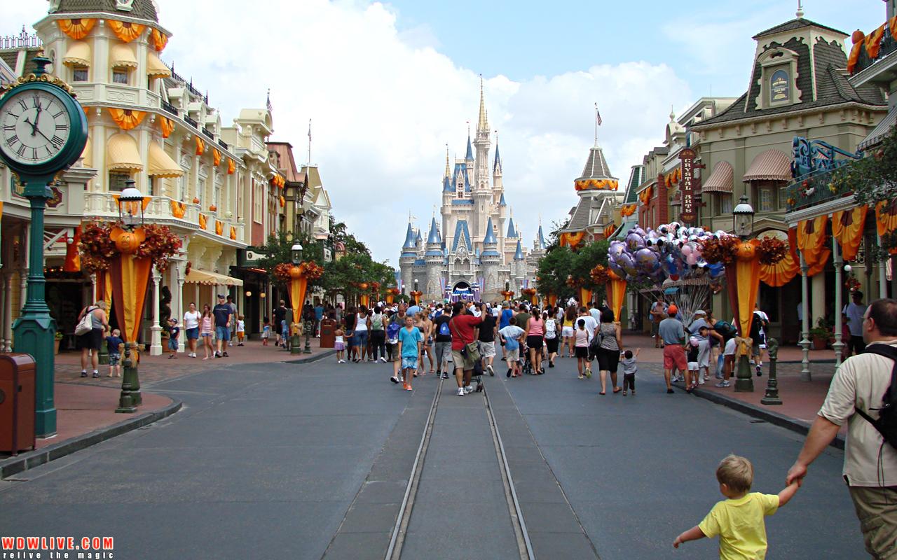 Cinderella Castle Desktop Wallpaper 1280x800 1280x800