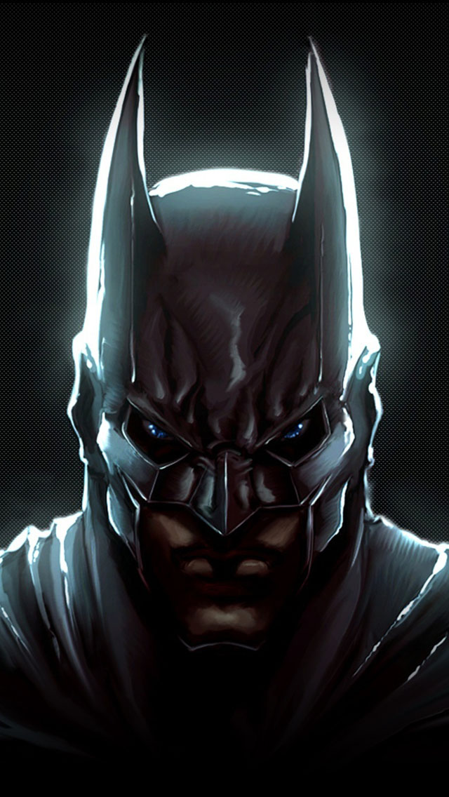 The Dark Knight Batman Art Wallpaper   iPhone Wallpapers 640x1136