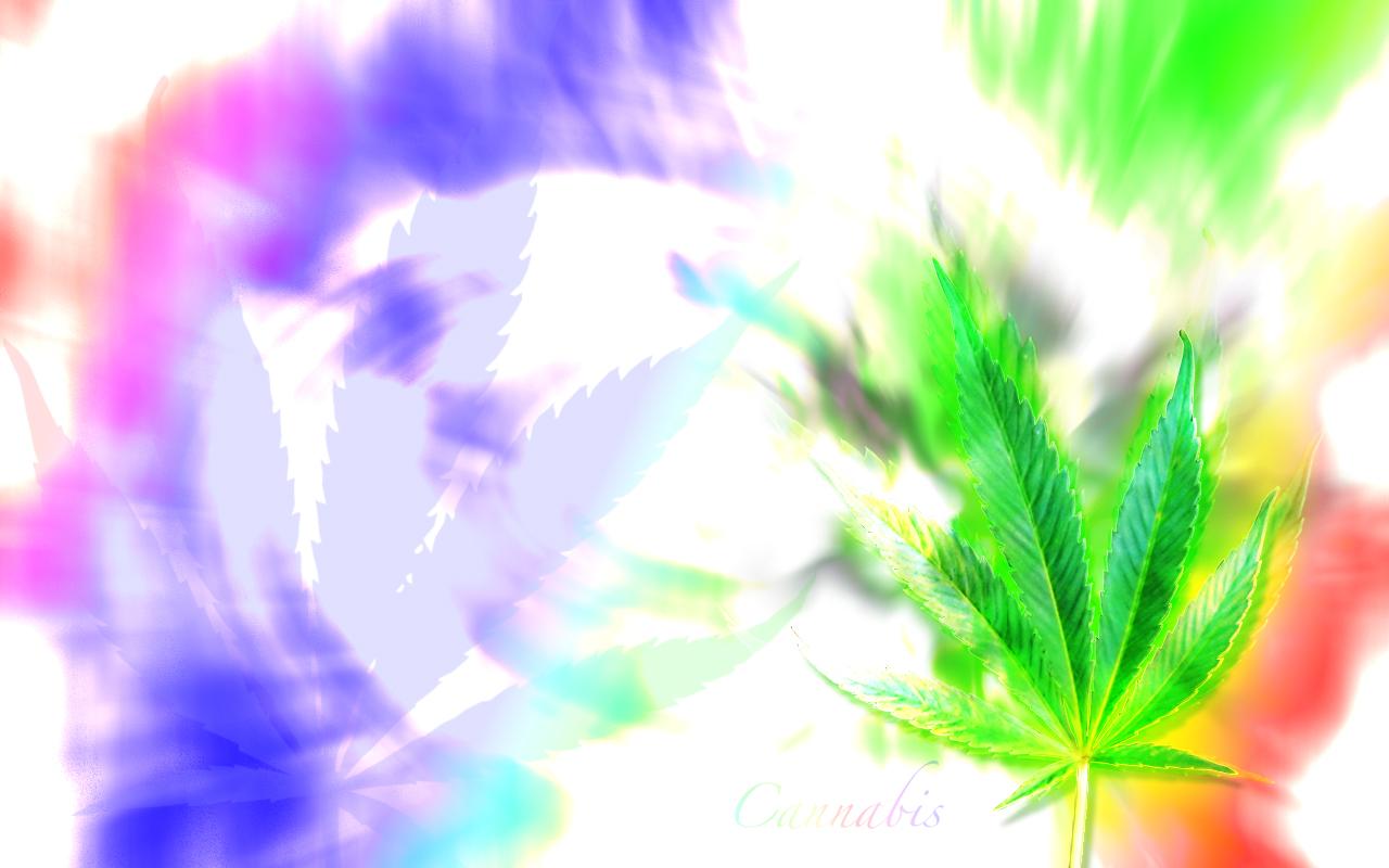 Top Trippy Marijuana Leaf Wallpaper Wallpapers 1280x800
