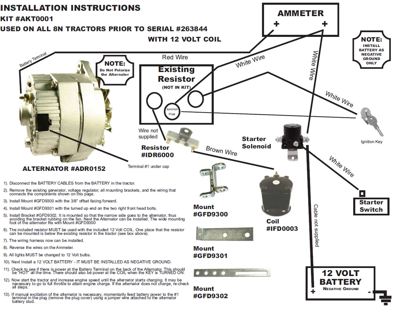 download Wallpapers Ford Tractor 12 Volt Conversion Kit 1280x1024