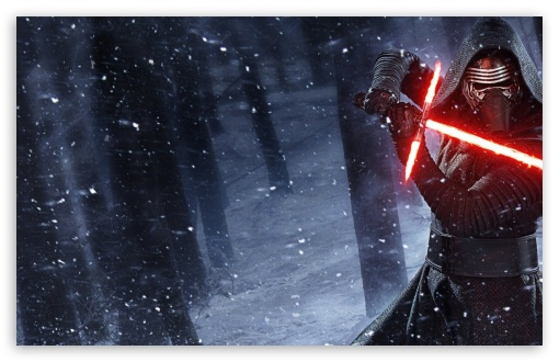 Kylo Ren Star Wars Lightsaber HD desktop wallpaper Widescreen High 510x330