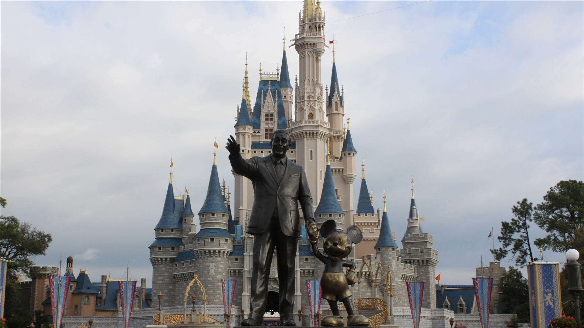 Walt Disney World Castle Pictures Wallpaper HD 1920x1080 3472 1920x1080