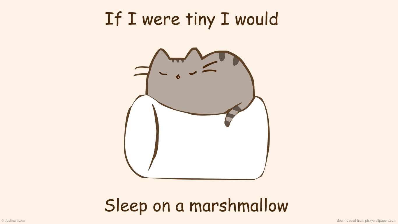 10+] Pusheen Wallpaper for Kindle on