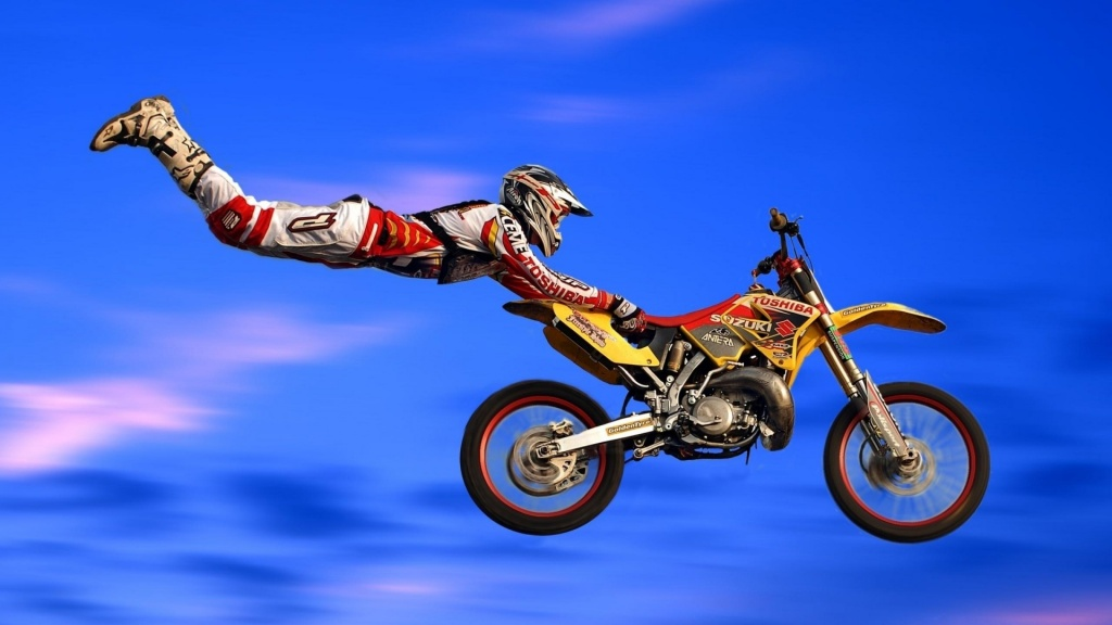 Techniques Wallpaper Download Cool Motocross Jumping Techniques 1024x576