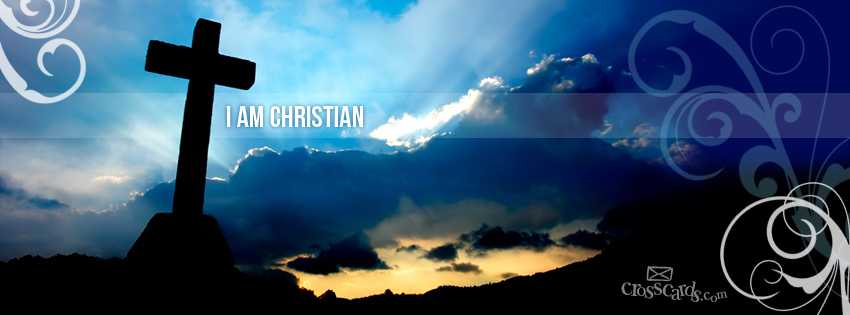 Download I Am Christian   Christian Facebook Cover Banner 850x315