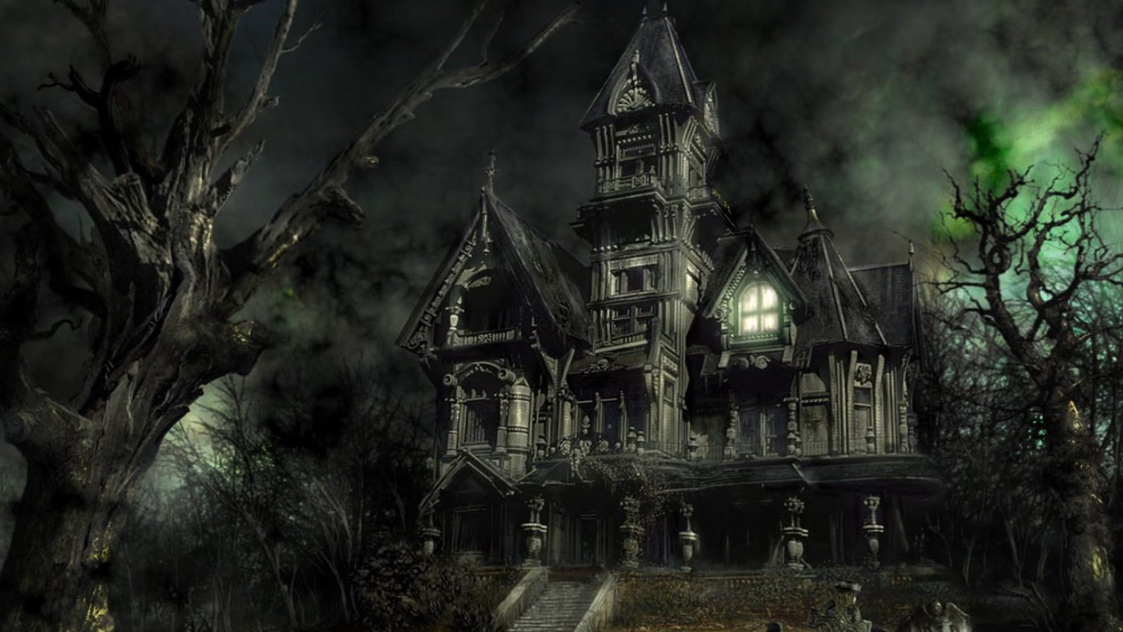 Mansion Wallpaper House 1600x900