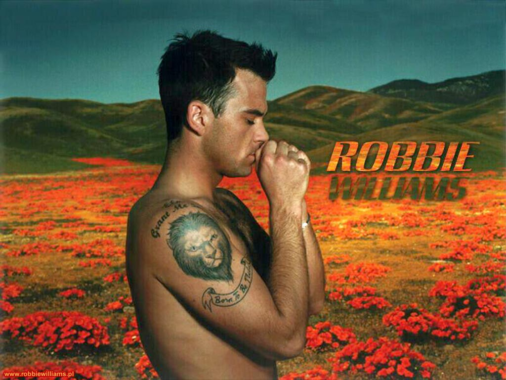 Desktop Wallpapers   Robbie Williams 1024x768
