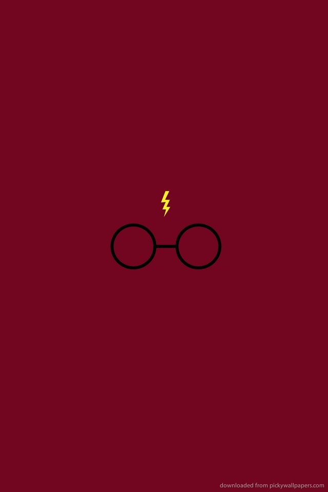 Harry Potter Iphone Wallpaper Hd Minimalistic harry potter for 640x960