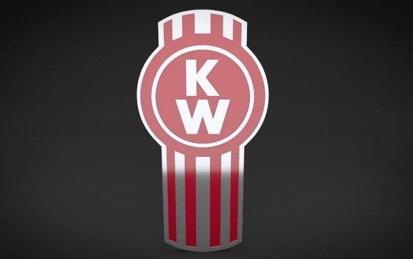 KenWorth Logo   3DOcean Item for Sale 590x370
