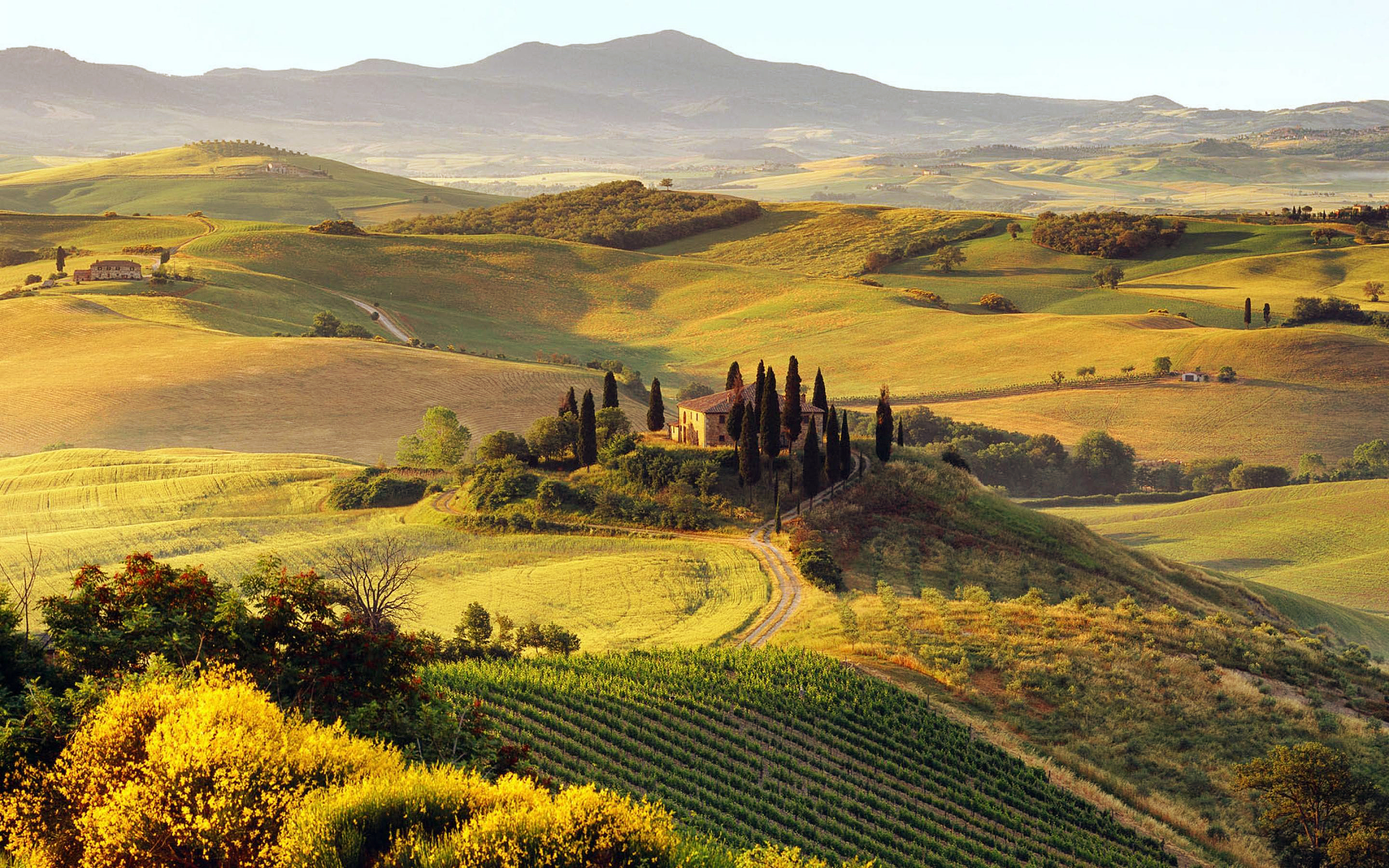 Daily Wallpaper Tuscany Italy I Like To Waste My Time 2880x1800