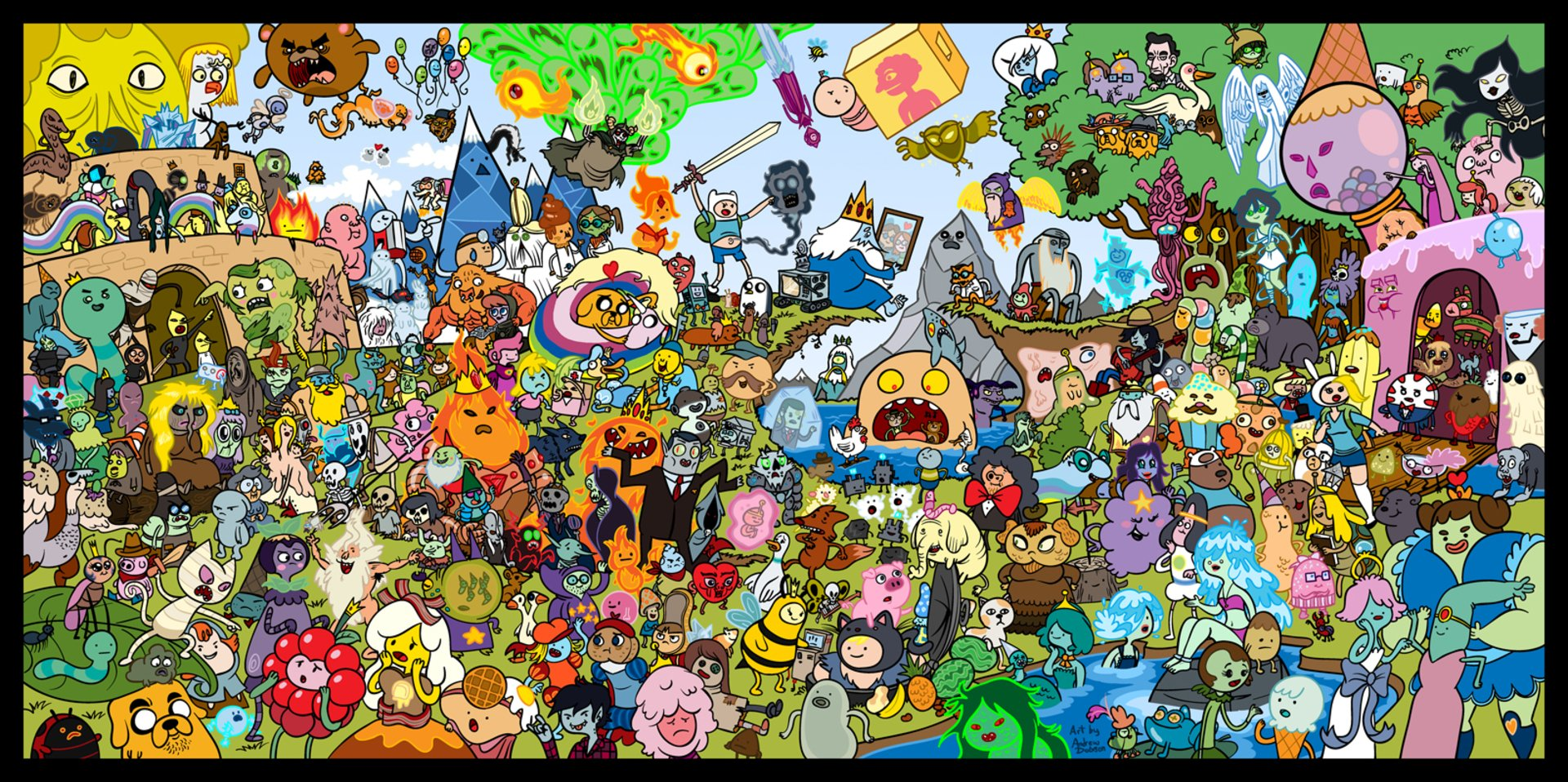 340 Adventure Time HD Wallpapers Background Images 1920x958