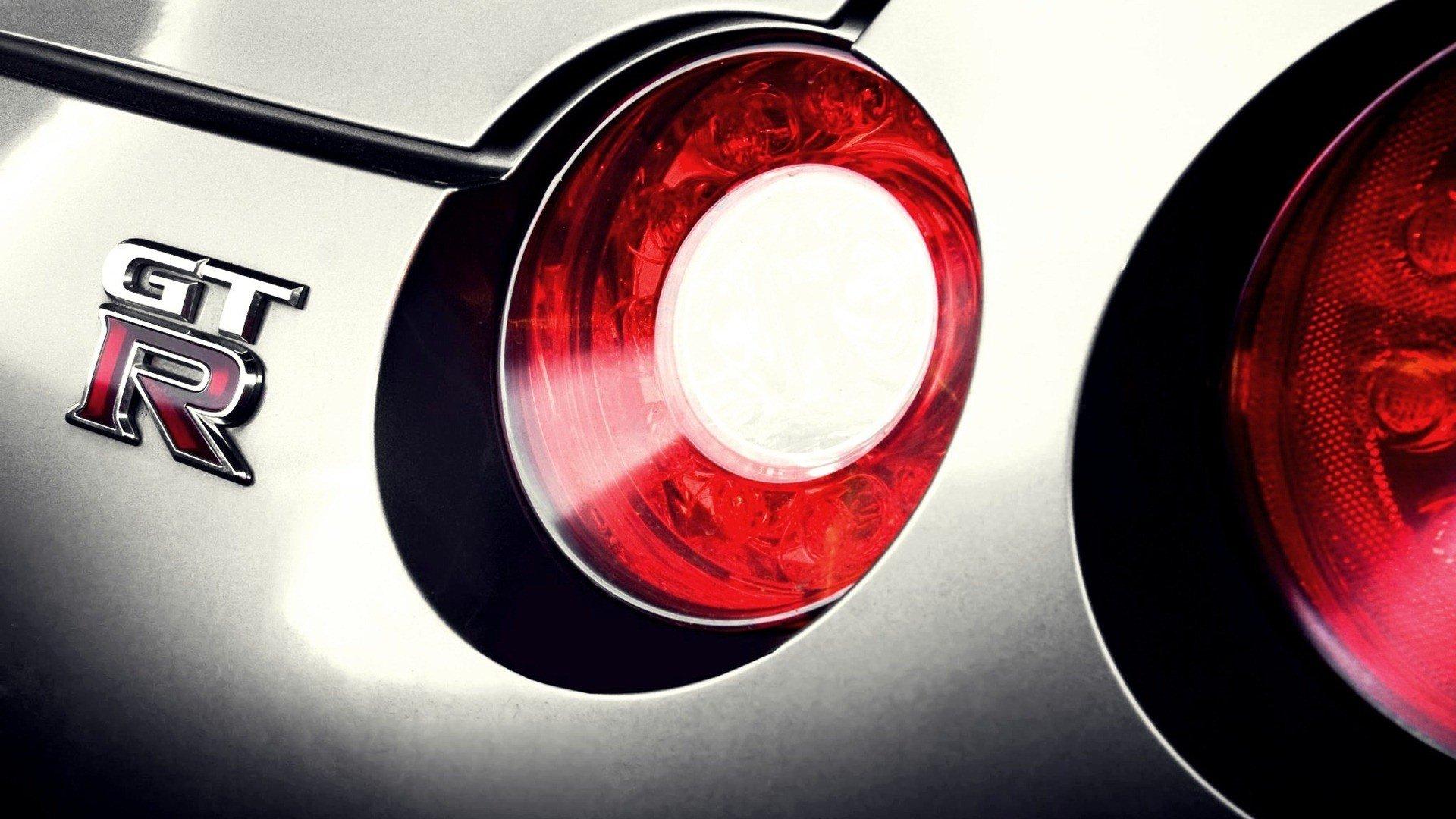 Nissan GTR Nissan R35 GT R taillights Nissan GTR gtr logo wallpaper 1920x1080