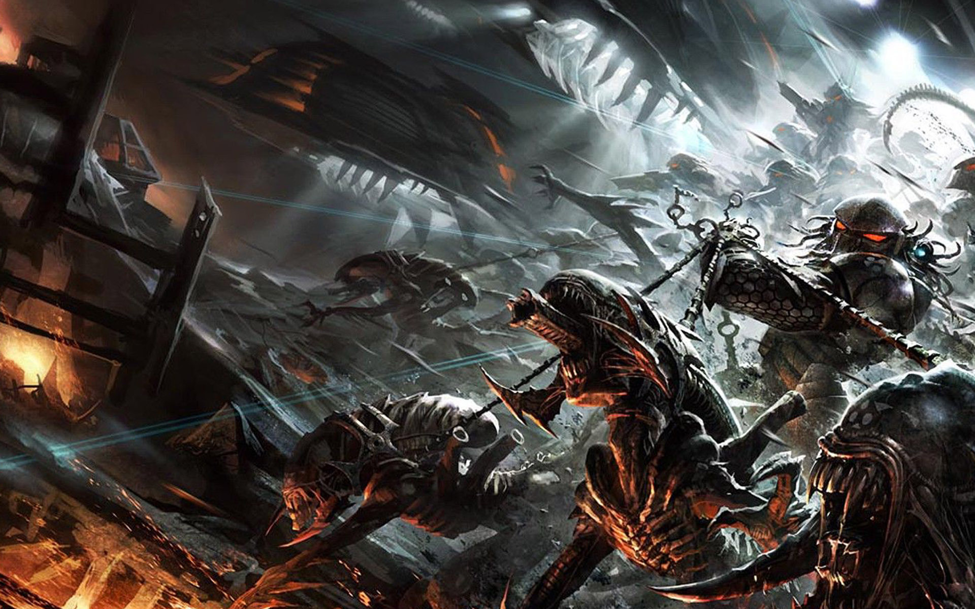 Alien Vs Predator Wallpaper Hd Predator Wallpa...