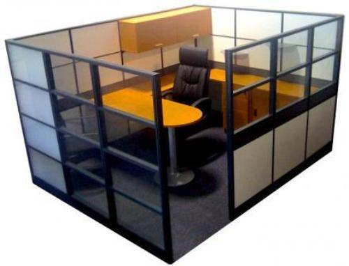 office cubicle glass walls Home Designs Wallpapers 500x382