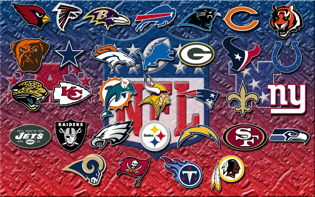 All Nfl Team Logos All nfl team logos in 2013 1024x640