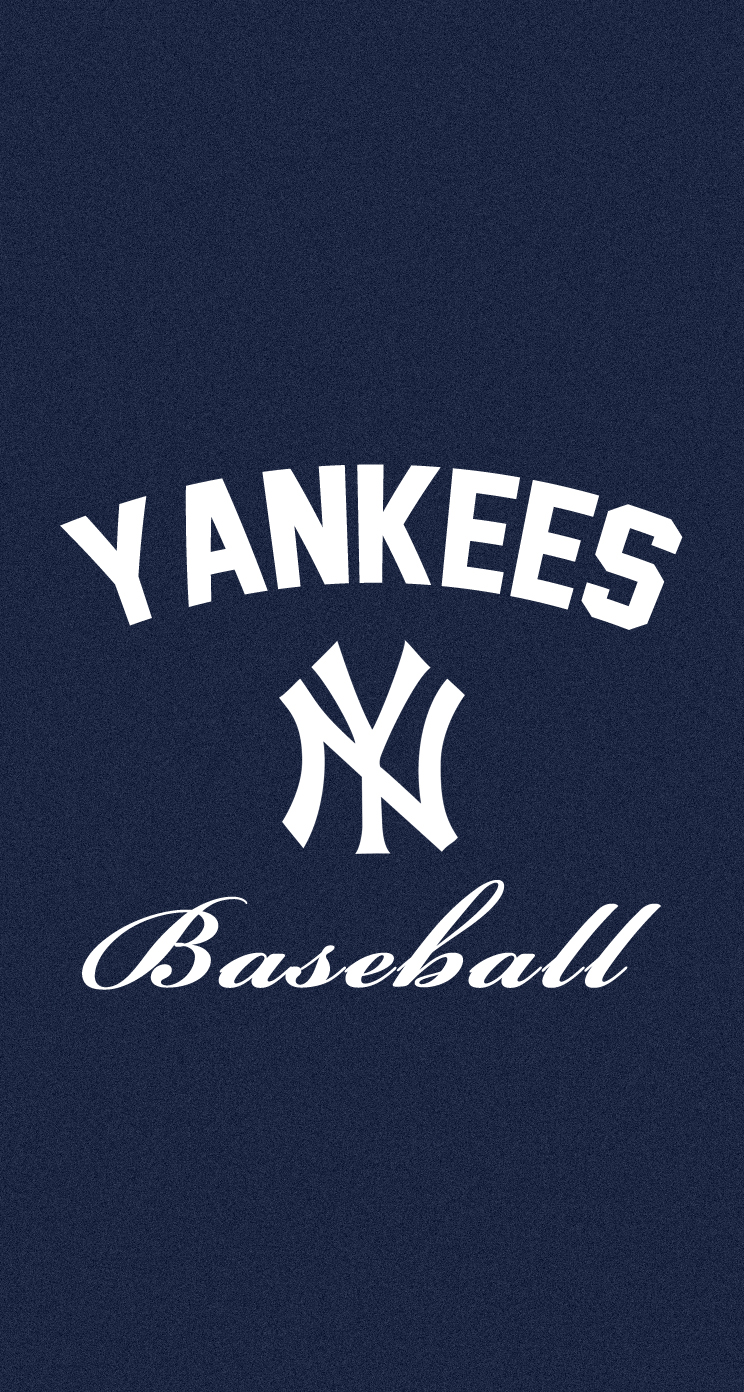Showing picture New York Yankees Iphone 744x1392