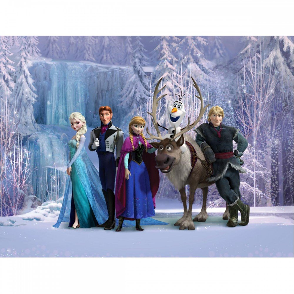 Frozen Wallpaper XXL Great KidsBedrooms the childrens bedroom 1000x1000