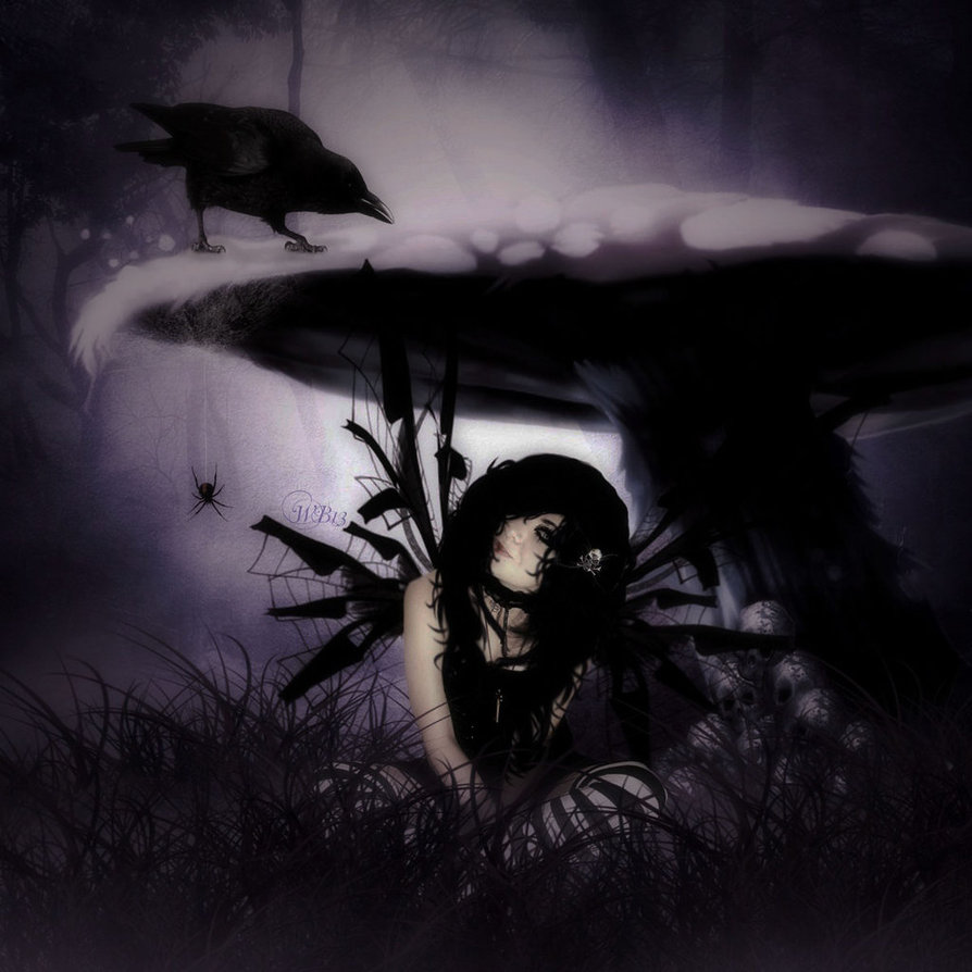 Gothic Fairy by Wickedbutterflly 894x894