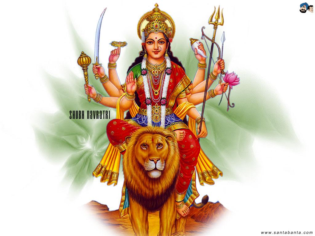 Goddess Durga 1024x768