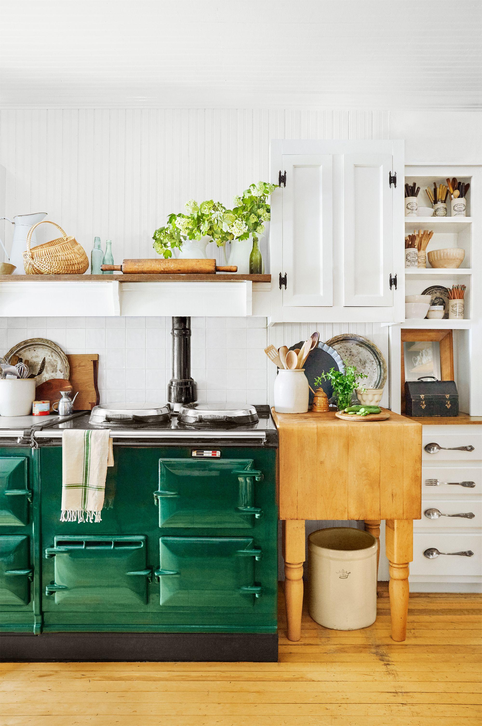 34 Farmhouse Style Kitchens   Rustic Decor Ideas for Kitchens 2000x3013