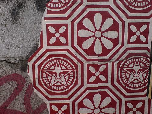 Shepard Fairey wallpaper Flickr   Photo Sharing 500x375