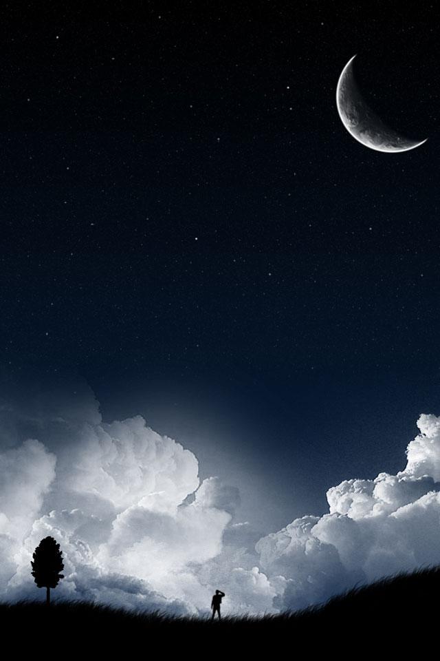 44+ Starry Night iPhone Wallpaper on WallpaperSafari