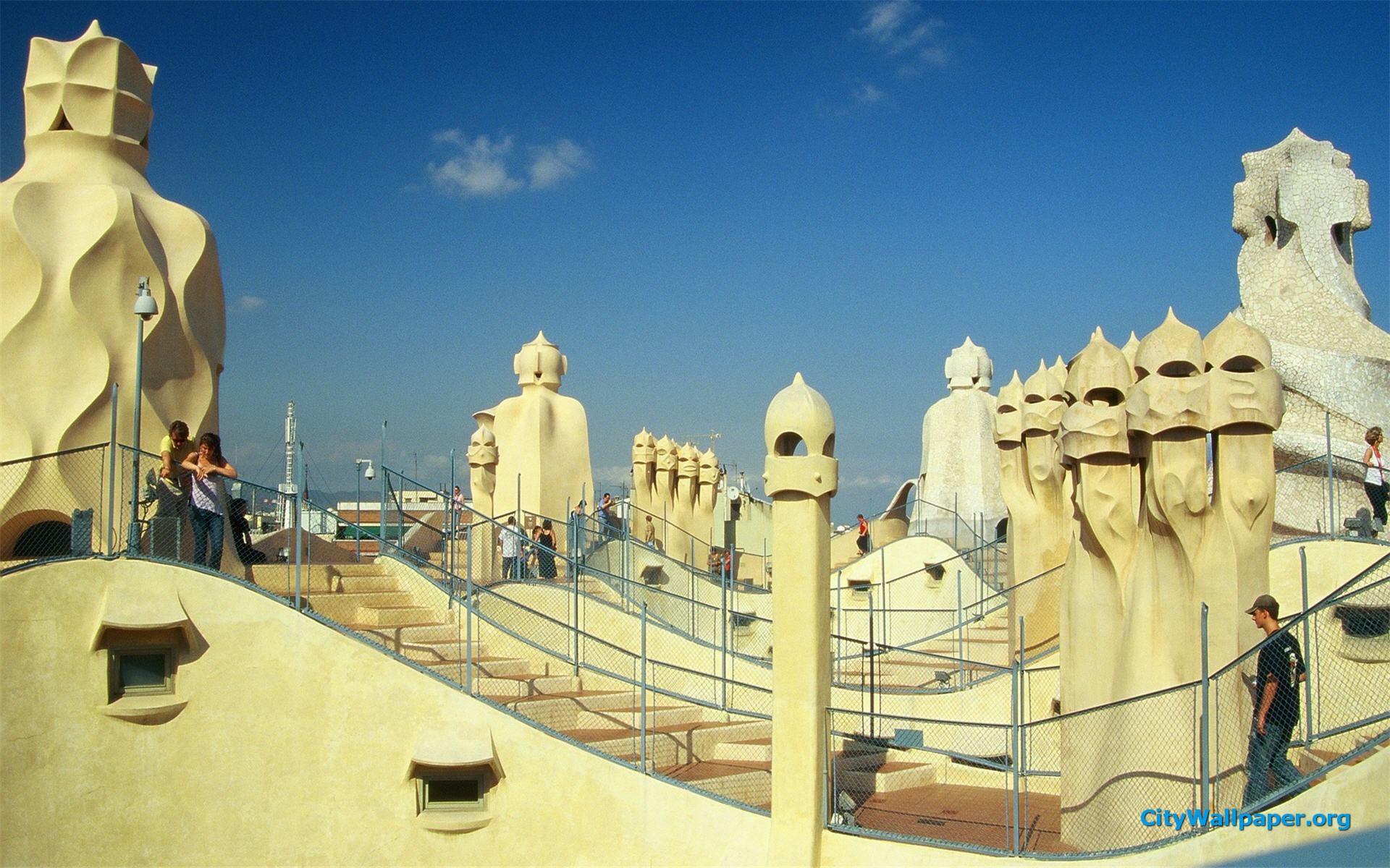Gaudi Wallpaper 1920x1200