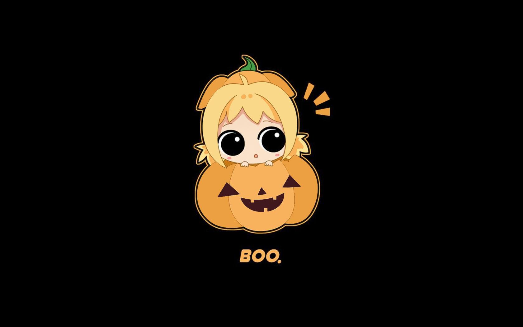 48 Cute Halloween Wallpapers For Desktop On Wallpapersafari