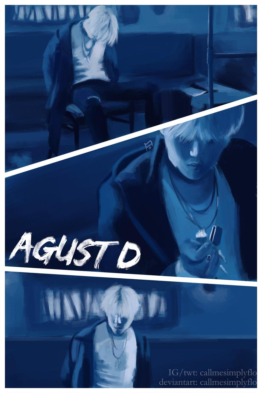 AGUST D by CallmesimplyFlo 1024x1536