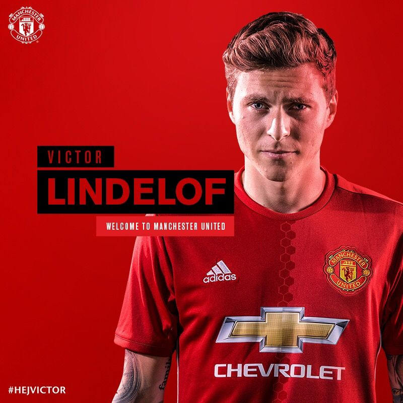 Victor Lindelof Manchester United 2017 Manchester United Shit 800x800