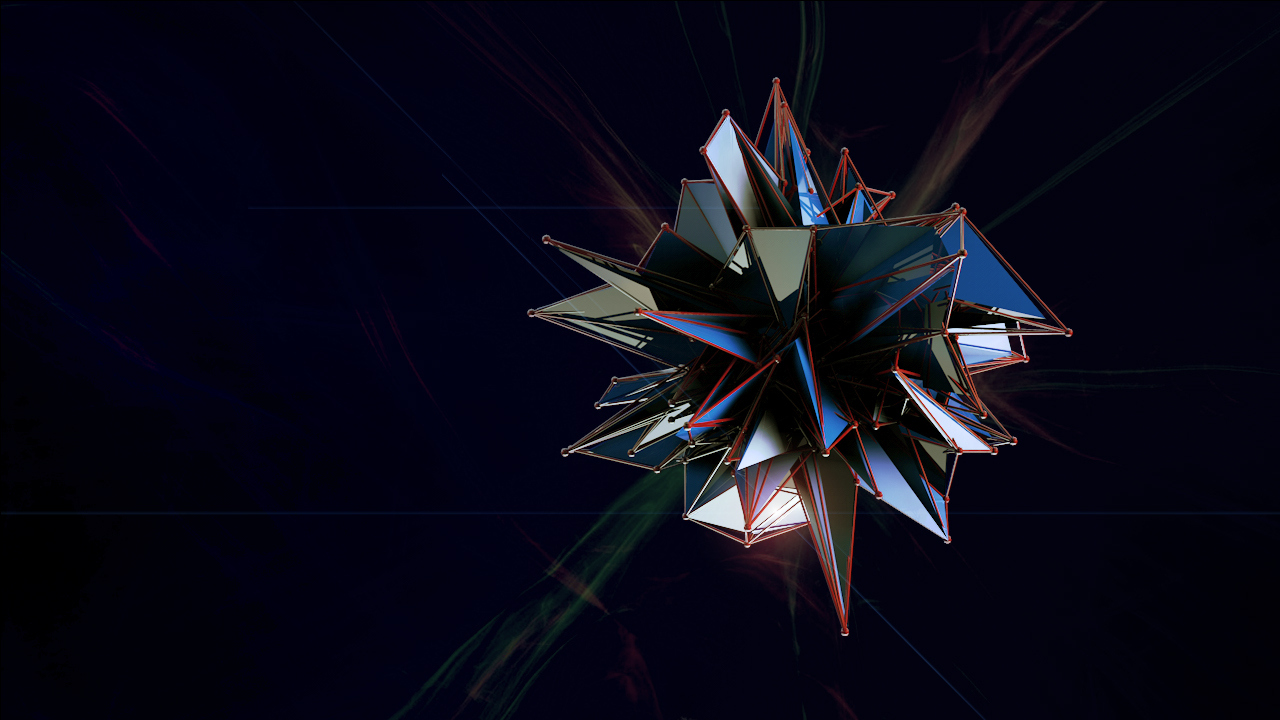 Free Juxtaposed Graphix Cinema 4D Abstract Atom