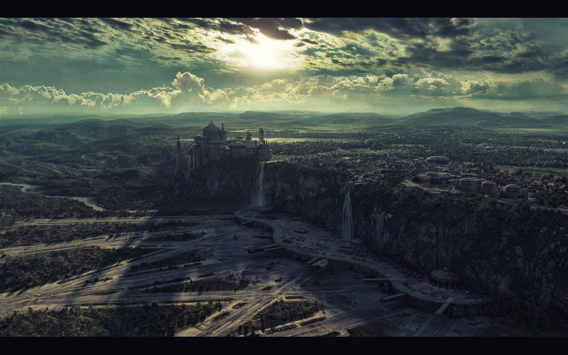 Star Wars Wallpaper 1920x1200 Star Wars Landscapes Naboo 1920x1200