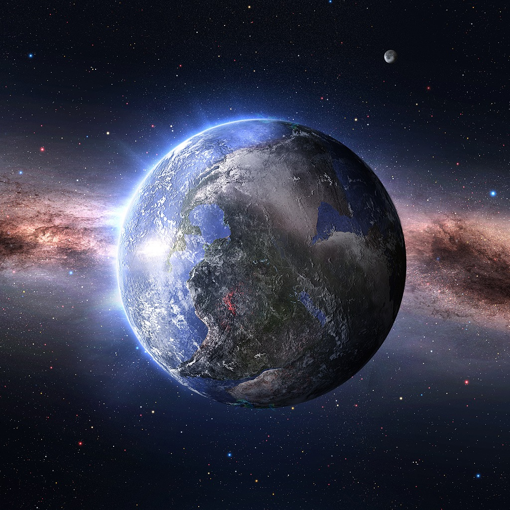 Newest iPad wallpapers Space Wallpapers Earth 1024x1024