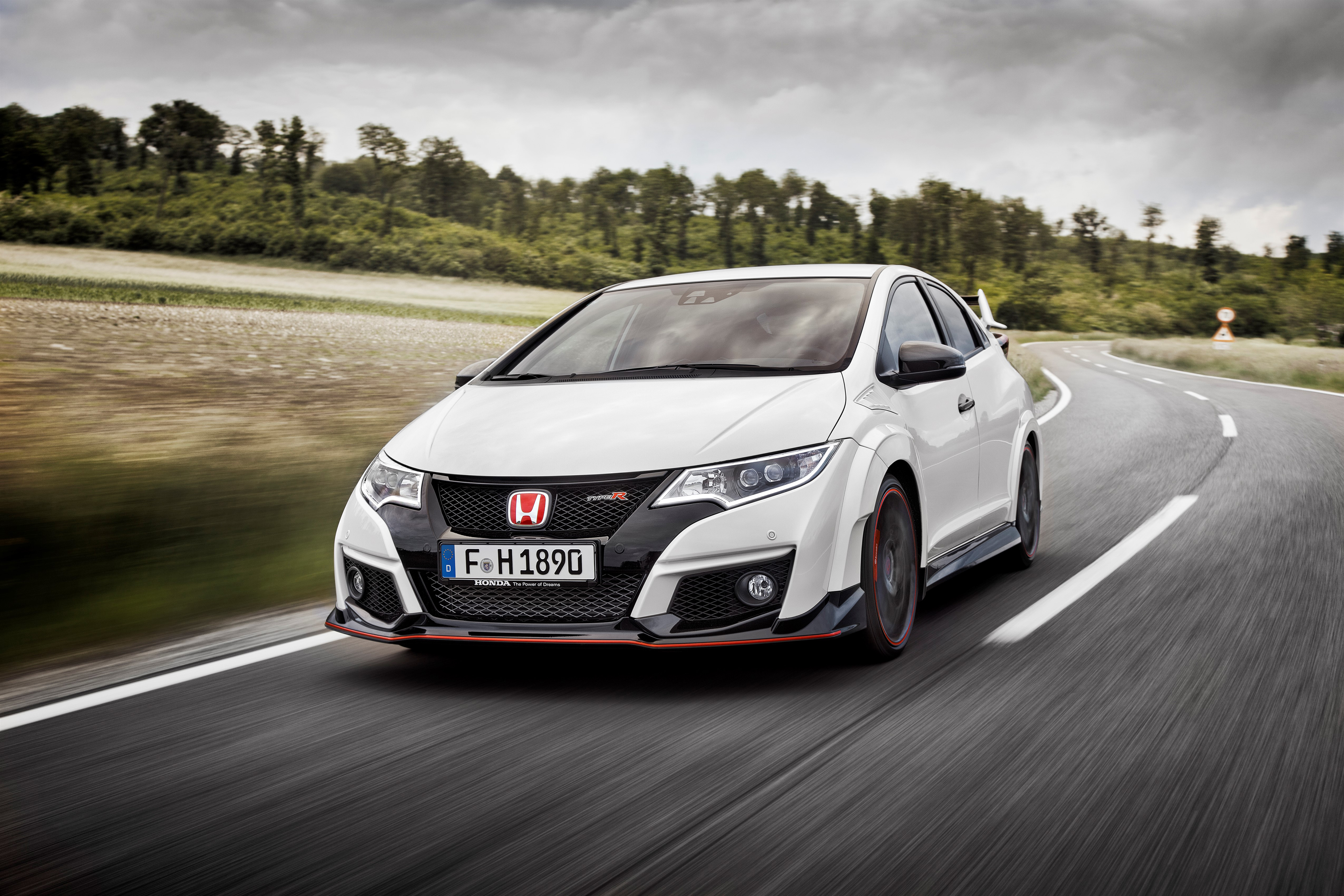 4 Honda Civic Type R HD Wallpapers Backgrounds 4096x2731