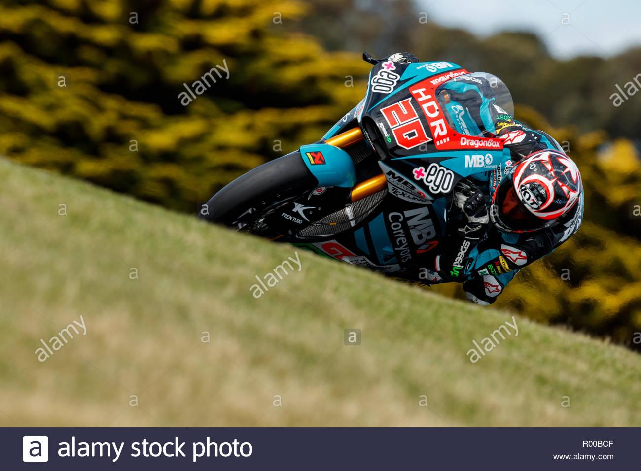 Friday 26 October 2018 Phillip Island Australia Moto2 Fabio 1300x956