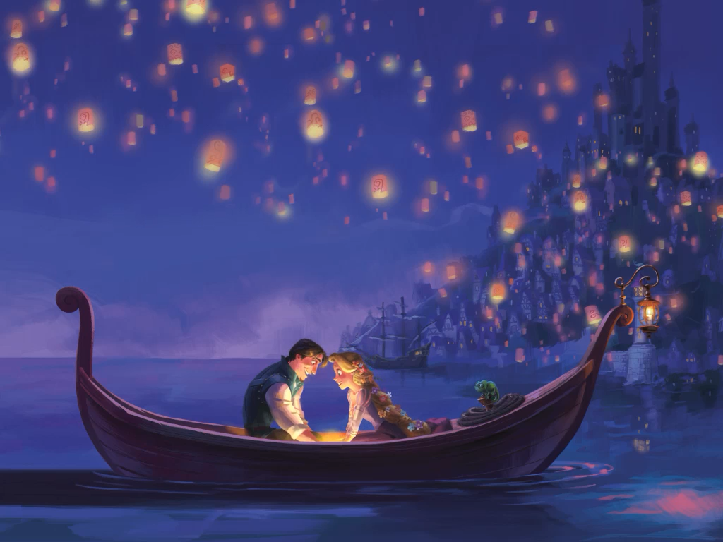 The Art of Tangled Tangled Storybook Deluxe   Floating Lantern 1024x768