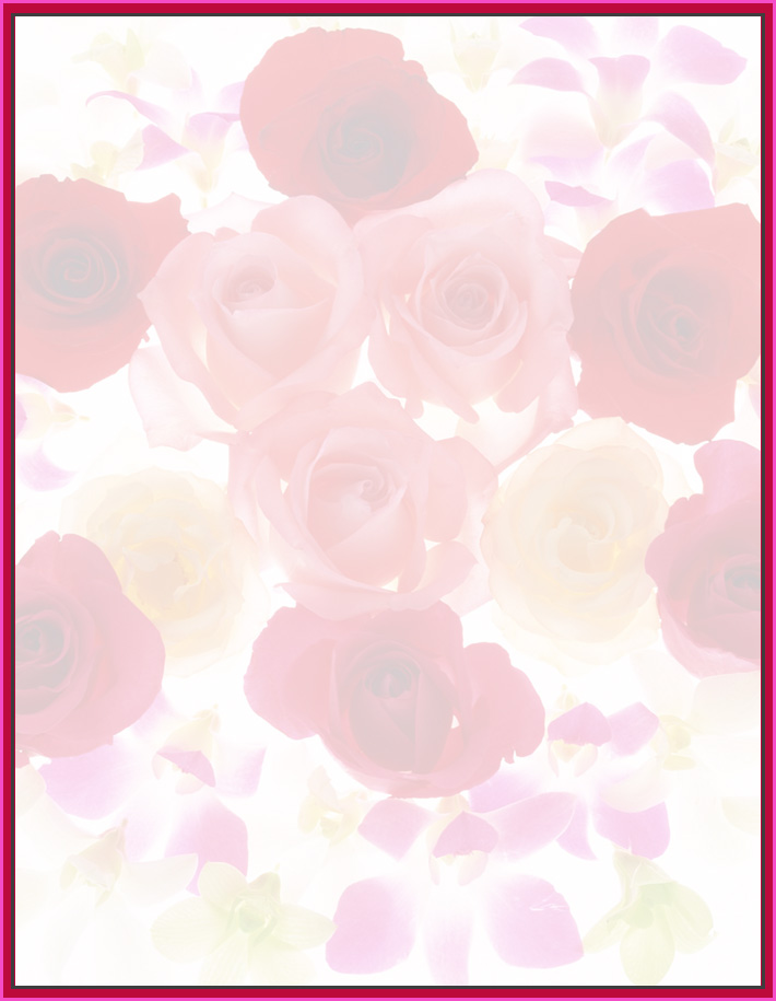 printable stationary border paper printable floral border 710x915
